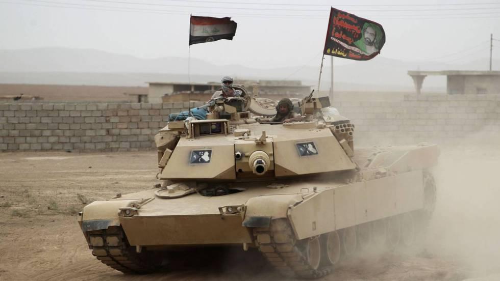 Resultado de imagen de ejercito iraquí chií