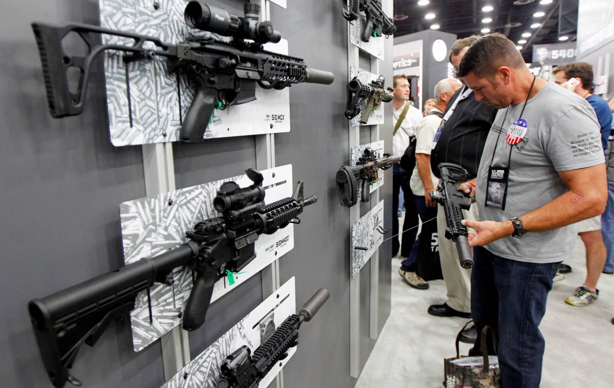 A arraigada fé nas armas nos EUA