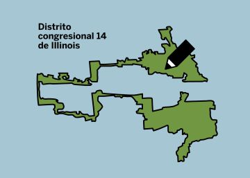 Así son los mapas de distrito que deciden el resultado de las elecciones