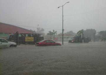 La fuertes lluvias dejan 46.000 damnificados en México