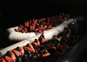 Más de 3.500 migrantes rescatados y 14 muertos en el Mediterráneo durante el fin de semana