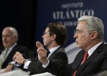 Los expresidentes colombianos Uribe y Pastrana insisten en un acuerdo nacional por la paz