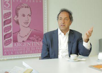 """Daniel Scioli: """"En la calle me dicen 'tenías razón"""""""