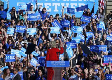 Hillary Clinton contra Donald Trump, entre el continuismo y el salto a lo desconocido