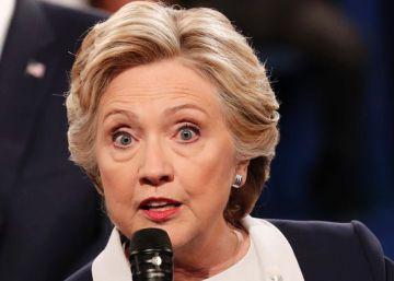 VÍDEO   Los baches de Clinton