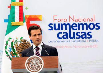 """Peña Nieto admite un """"repunte"""" de la violencia"""