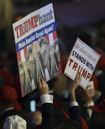Donald Trump gana las elecciones en EEUU