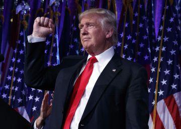 Donald Trump, elegido presidente de EE UU