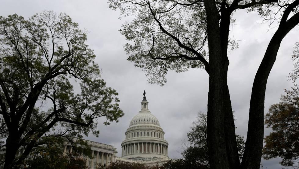 El Capitolio, este miércoles, en Washington