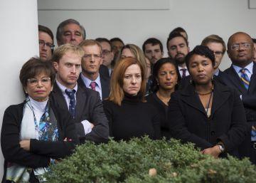 Las lágrimas del equipo de Obama ante la inminente presidencia de Trump