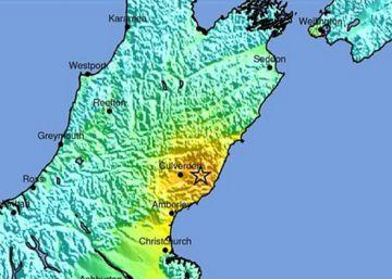 Un terremoto de intensidad 7,8 sacude Nueva Zelanda y deja dos muertos