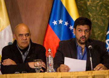 La oposición de Venezuela trata de aplacar a sus bases tras el diálogo con el Gobierno