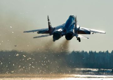 Un caza ruso se estrella en el Mediterráneo