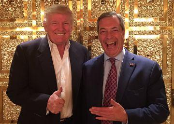 """May no quiere una """"tercera persona"""" en su relación especial con Trump"""