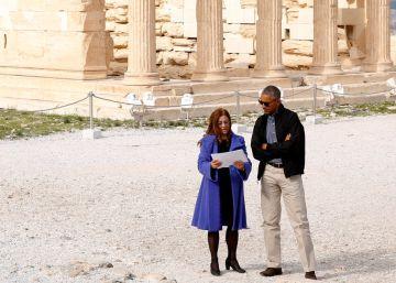 Obama interviene desde la cuna de la democracia