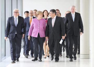 Merkel recibe a Obama convertida en baluarte de los valores liberales
