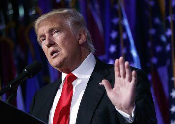Trump lucha para encarrilar una transición que camina a la deriva