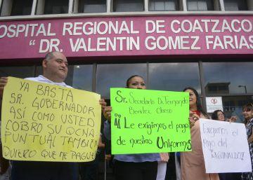 Hospitales y prisiones se suman a la parálisis económica de Veracruz