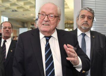 La justicia reinstala a Jean-Marie Le Pen como presidente de honor del FN