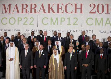 """La Cumbre de Marrakech proclama que la lucha contra el calentamiento es ya """"irreversible"""""""