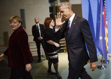 Obama pide al nuevo presidente de EE UU firmeza frente a Putin