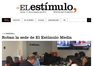 Un periódico digital es asaltado en Venezuela