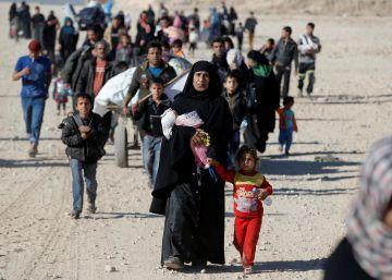 Los rehenes de Mosul