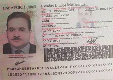 Detenido un hombre al sur de México con un pasaporte falso de Javier Duarte
