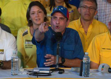 Capriles exige a Maduro que dé la cara ante la condena de sus sobrinos