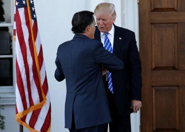 Trump sondea a viejos enemigos para puestos clave