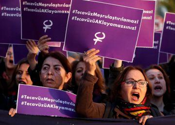 Turquía planea amnistiar a quienes tengan sexo con una menor si se casan