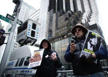 Trump colapsa la Quinta Avenida en plena temporada de compras