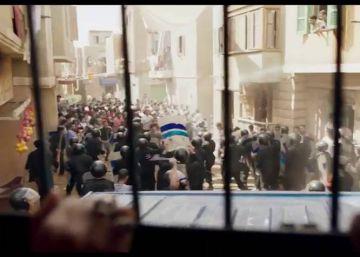 'Clash', metáfora del drama egipcio en una furgoneta policial