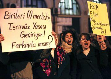 Turquía retira el proyecto de ley que perdonaba abusos a menores