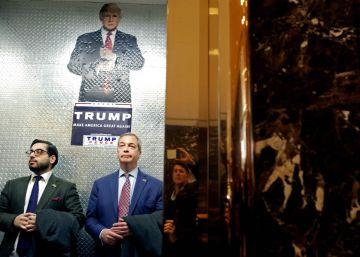 Trump sugiere que Farage sería un buen embajador británico en Washington