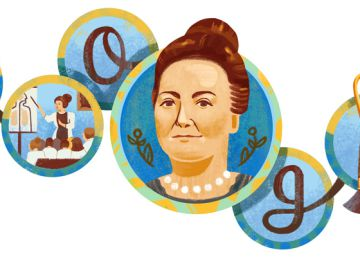 Cecilia Grierson, la primera médico argentina recibe un tributo de Google