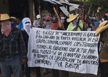 De cerro en cerro, cautivos de Los Tequileros en México
