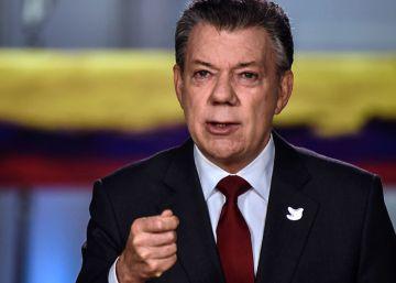 """Santos pide anteponer la paz en Colombia """"a los intereses políticos"""""""