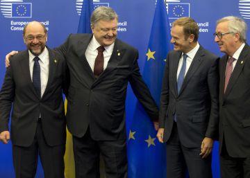 La UE y Ucrania celebran una cumbre en plena inquietud por Trump
