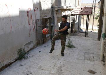 La tregua del fútbol que no pudo ser en Alepo