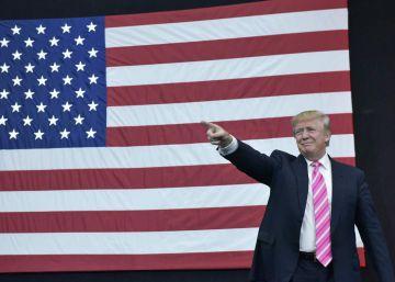 Donald Trump llama a la unidad del país