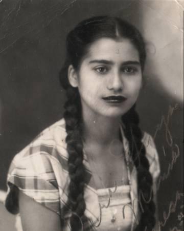 María Teresa, una de las hermanas Mirabal, asesinada el 25 de noviembre de 1960.
