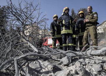 Netanyahu culpa al terrorismo de la catástrofe de los incendios forestales