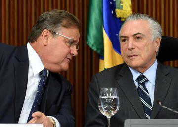 Un caso de tráfico de influencias en Brasil salpica al presidente Temer