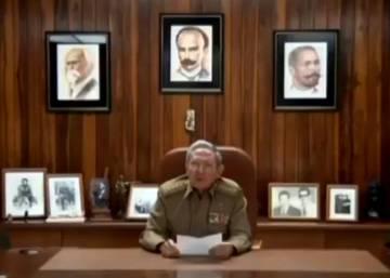 Raúl Castro anuncia en televisión el fallecimiento del líder histórico de la revolución cubana