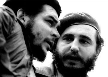 Ernesto Che Guevara y Fidel Castro.