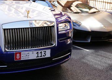 Un ciudadano de Abu Dhabi paga 8 millones por la matrícula número 1