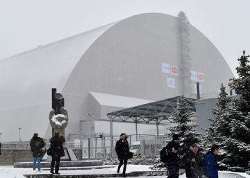 Chernóbil se cubre de un inmenso caparazón para estar a salvo un siglo