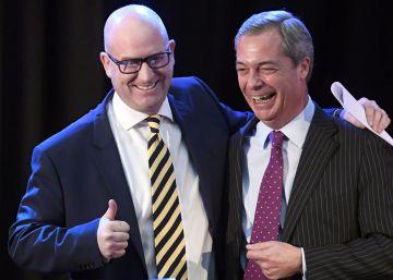 El UKIP elige al eurodiputado Paul Nuttall para liderar el partido