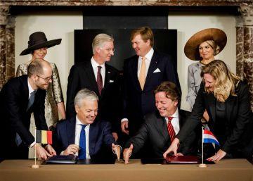 Bélgica y Holanda modifican (pacíficamente) sus fronteras